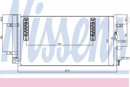 Радиатор кондиционера AUDI: A4 (8K2) 1.8 TFSI/1.8 TFSI QUATTRO/2.0 TDI/2.0 TDI QUATTRO/2.0 TDI/2.0 TDI QUATTRO/2.0 TFSI/2.0 TFSI FLEXIBLE FUEL/2.0 TFSI FLEXIBLE FUEL QUATT