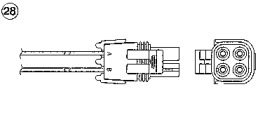 Кислородный датчик (Zirconium) OZA660-EE2 5654