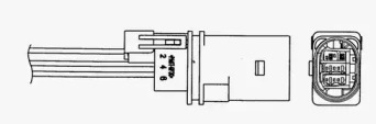 0033 / LZA17-VW1 Лямбда-зонд AUDI: A3 (8P1) 2.0/2.0 TDI/2.0 TDI  quattro/2.0 TDI quattro 03-, A3 Sportback (8PA) 2.0/2.0 TDI/2.0 TDI  quattro/2.0 TDI quattro 04- \ SEAT: LEON