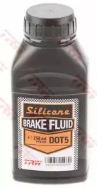 Жидкость тормозная DOT 5 Silicone, 0,25л, на силиконовой основе
