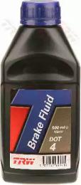 Жидкость тормозная DOT-4 0,5л