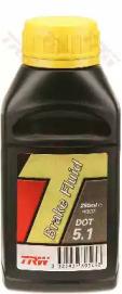 Жидкость тормозная DOT 5.1, 0,25л, для авто c ABS