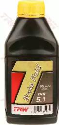 Жидкость тормозная DOT-5.1 0.5л
