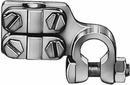 Клемма аккумулятора D15,9 мм д/кв.мм. 50-120 (-)
