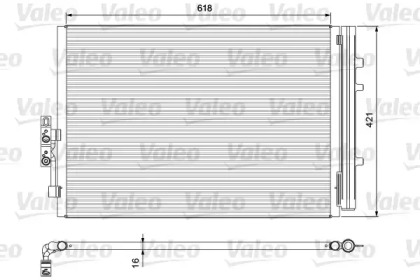Радиатор кондиционера BMW: X3 (F25) xDrive 28i mtr. N52B30A 04/11-04/12