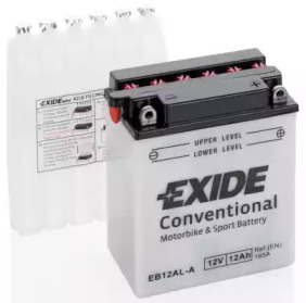 Аккумулятор для мототехники EXIDE CONVENTIONAL 12 V 12 AH 150 A ETN 0 B0 135x80x160mm 4.1kg