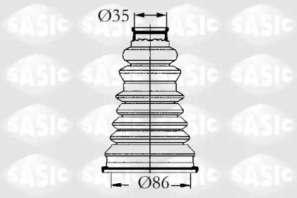 Пыльник ШРУСа внешний RENAULT LOGAN, SANDERO 4003432