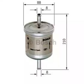 Фильтр топливный VOLVO: S40 I 95-03, S60 00-, S80 98-06, V40 универсал 95-04, V70 II универсал 00-, XC70 CROSS COUNTRY 00-