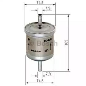 Фильтр топливный FORD: MONDEO III 00-07, MONDEO III седан 00-07, MONDEO III универсал 00-07, TRANSIT 06-, TRANSIT фургон 06-