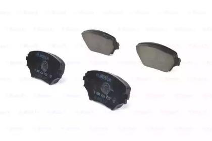 Колодки тормозные дисковые передн TOYOTA: RAV 4 II (CLA2_, XA2_, ZCA2_, ACA2_) 1.8 VVTi/2.0 D-4D 4WD/2.0 VVTi 4WD/2.4 VVTi 4WD 00-05