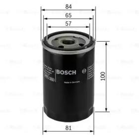 Фильтр масляный BOSCH 0986452023