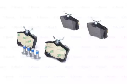 Колодки тормозные дисковые AUDI A3/VW GOLF,PASSAT,SHARAN задние