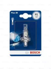 Лампа BOSCH 1987301003 H1 55W 12V P14,5s +30%  blister 1шт
