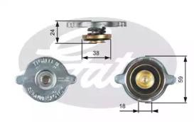 Крышка радиатора RC113 (7410-30013)