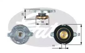 Крышка радиатора Gates RC122 (7410-30022)