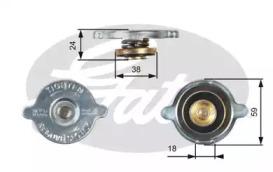 Крышка горловины радиатора MERCEDES/ROVER