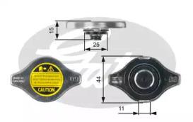 Крышка радиатора Gates RC127 (7410-30027)