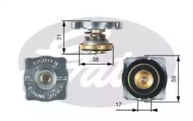 Крышка расширительного бачка системы охлаждения