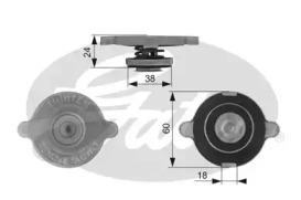 Крышка радиатора RC131 (7410-30054)
