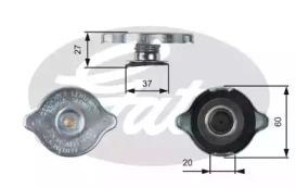 Крышка радиатора GATES RC217 MB