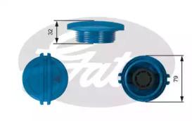 Крышка расширительного бачка системы охлаждения, AUDI/SEAT/SKODA/VW