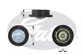 Крышка расширительного бачка системы охлаждения, MERCEDES-BENZ W163