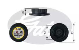 Крышка радиатора RC246 (7410-30092)