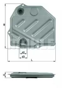 Фильтр АКПП MERCEDES (W124, W126, W201, W202, W210)