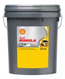 Масло моторное синтетическое 20л - Rimula R6 ME 5W30 (E4, CF)
