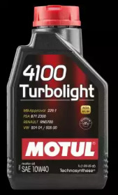 Масло моторное MOTUL 4100 Turbolight 10W-40 1L