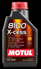 MOTUL 8100 X-cess 5W40 SN/CF синтетика  1л (1/12)