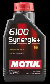 Масло моторное MOTUL Synthetic 6100 Synergie+ 5W-40 1L