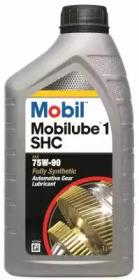 Масло трансмиссионное синтетическое Mobil Mobilube 1 SHC 75W-90, API GL-4/GL-5, MT-1, 1/12 шт 1L