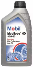 Масло трансмиссионное MOBIL 152661 80W90 (1L) Mobilube HD (в мост) GL-5