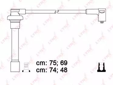 Провода высоковольтные подходит для HONDA Accord V-VI(VTEC)/Civic V 1.5/1.6  SPE3407