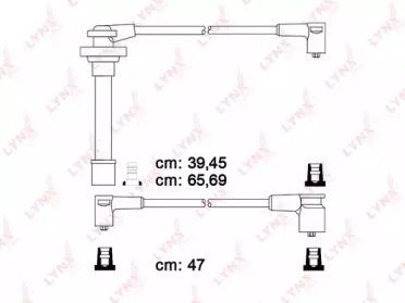 Провода высоковольтные подходит для NISSAN Almera 1,4-1,6 95-00/Primera 1,6 96-02/Serena 1,6 94-98/100NX 2,0 93-94 SPE5712