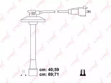 Провода высоковольтные подходит для TOYOTA Camry 2,2 96-01/ Avensis 2,0 97-00/ RAV-4 2,0 97-00 SPE7543