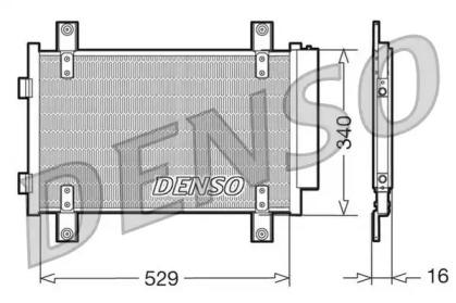 Радиатор кондиционера CITROEN: JUMPER автобус (244, Z) 2.0/2.0 HDi/2.0 bivalent/2.2 HDi/2.8 HDi 02 - , JUMPER фургон (244) 2.0/2.0 HDi/2.0 bivalent/2.2 HDi/2.8 HDi/2.8