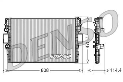 Радиатор системы охлаждения IVECO: DAILY IV автобус/с бортовой платформой/самосвал/фургон 2.3D/3.0D 06-11