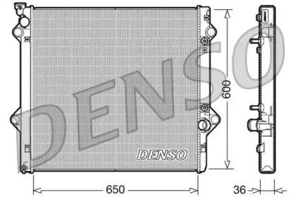 Радиатор системы охлаждения TOYOTA: LAND CRUISER LEXUS: GX