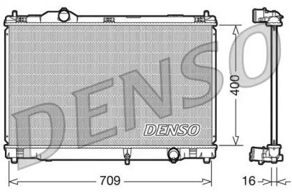 Радиатор системы охлаждения LEXUS: GS 300/450h 05-11