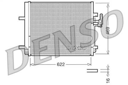 Радиатор кондиционера FORD: GALAXY / MONDEO IV /S MAX / S80 II / V70 III / XC70 II