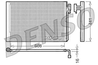 Радиатор кондиционера LAND ROVER: Range Rover 3.0 TD / 4.4i