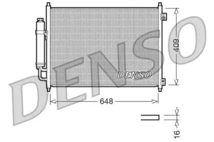 Радиатор кондиционера DCN46001