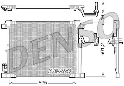Радиатор кондиционера INFINITI: EX35 3.5 I 10.08-12.10