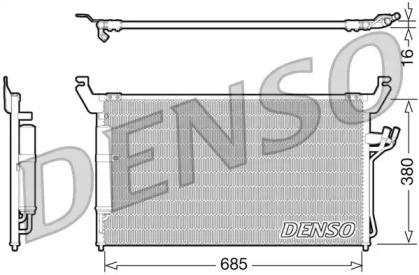 Радиатор кондиционера INFINITI: FX35/FX45 03-08