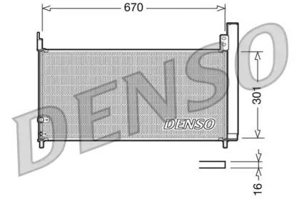 Радиатор кондиционера TOYOTA: PRIUS 1.8