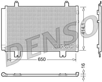 Радиатор кондиционера LEXUS: LS (UVF4, USF4) 460 06-