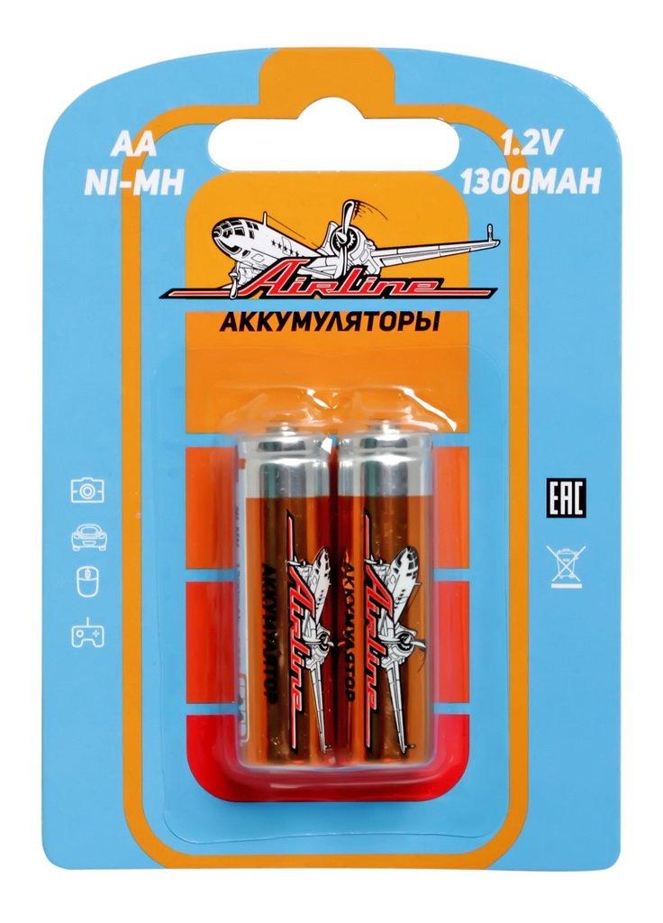 Батарейки AA HR6 аккумулятор Ni-Mh 1300 mAh 2шт.