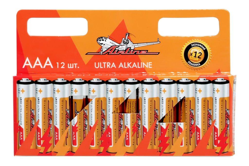 Батарейки LR03/AAA щелочные 12 шт.